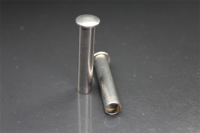 不锈钢小扁圆头半空心铆钉